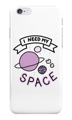 Our I Need My Space Phone Case is available online now for just £5.99. Check out our super cute I Need My Space phone case, available for iPhone, iPod & Samsung models. Material: Plastic, Production Method: Printed, Weight: 28g, Thickness: 12mm, Colour Sides: White, Compatible With: iPhone 4/4s | iPhone 5/5s/SE | iPhone 5c | iPhone 6/6s | iPhone 7 | iPod 4th/5th Generation | Galaxy S4 | Galaxy S5 | Galaxy S6 | Galaxy S6 Edge | Galaxy S7 | Galaxy S7 Edge | Galaxy S8 | Galaxy S8+ | Galax