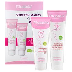 Sephora: Mustela : Stretch Marks Survival Belly And Bust Duo : stretch-mark-removal-cellulite-cream