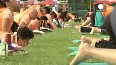 Primer Día Mundial del Yoga