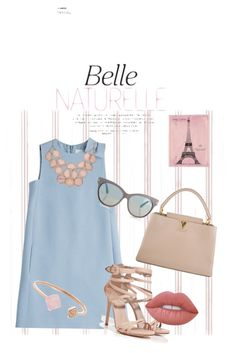 """""""Fashionista's Day Out"""" by alexis-butler-2 on Polyvore featuring Valentino, Tom Ford, Le Silla, Louis Vuitton, Lime Crime, Michael Kors and Vintage Print Gallery"""