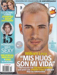 Spanish People magazine William Levy Luz Elena Gomez Sexiest men ...