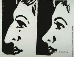 andy warhol 1960's | Andy Warhol Nose Job c. 1960's - POP ART GALLERY