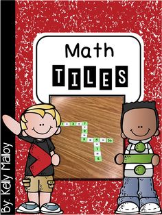 Math Tiles Crossword style game to get your students thinking about number relationships.  Your students will have fun while they build skills in arithmetic, cooperative play, sequential thought, and focus & attention.