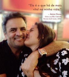 Um candidato de muitas qualidades. #AecioNeves #familia #ParaMudarOBrasil