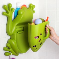Frog Bath Toy Storage