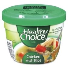 CNG17170 Healthy Choice Soup Cup - Microwavable - Chicken, Rice - 14 oz - 12 / Carton