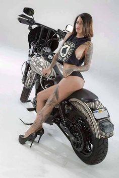 Sexy girls cars & bikes