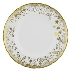 Empire China Flanders Salad Plates Set of 4 Orange Poppies Pattern Made in England Tea Party Plates Cottage Style Wedding China