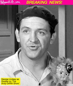 The Hollywood veteran died May 6 after being sick for many years. So sad.    Hollywood has truly lost another great television actor. George Lindsey, best known for playing Goober on both The Andy Griffith Show and Hee Haw, died May 5. TMZ reports the veteran actor will be buried in his hometown of Jasper, Alabama, though no funeral plans have been arranged yet.