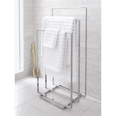 Modern Bathroom Accessories. With Stylish Bathroom Storage, Towel Racks,
