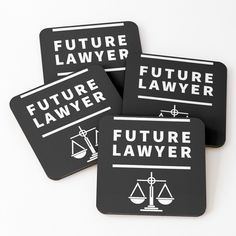 'Future Lawyer - student of law school' Coasters by RIVEofficial Law School, Lawyer, It Works, How To Remove, Student, Artists, Trends, Group, Future