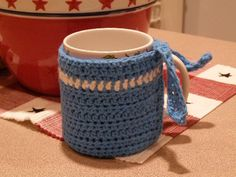 Mug Cozy by B-Hart, via Flickr +pattern