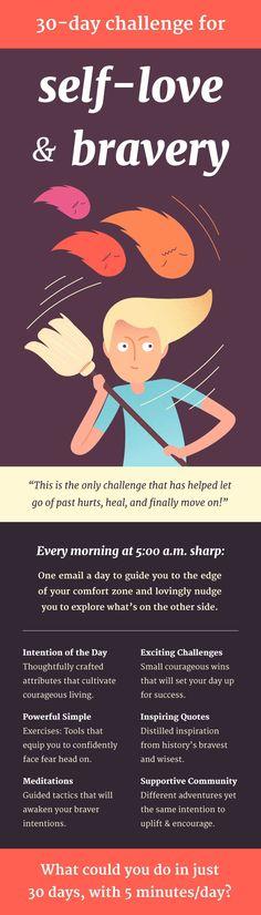 I've joined #30daysofbrave  challenge join me