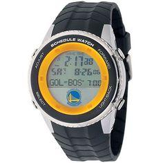 Golden State Warriors Mens Schedule Wrist Watch
