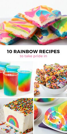 Somewhere over the rainbow dessert dreams really do come true! And it's all…