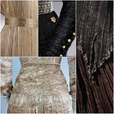 Imagini pentru Mariano fortuny designer Sisterhood Of Traveling Pants, Greek History, Fashion History, Sequin Skirt, Fabrics, Clothing, Beautiful, Dresses, Design