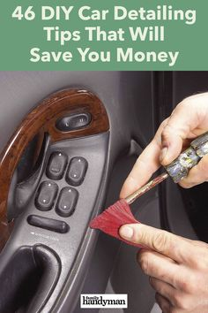Diy Car Cleaning, House Cleaning Tips, Deep Cleaning, Car Air Filter, Car Checklist, Car Care Tips, Car Hacks, Diy Cleaners, Car Detailing