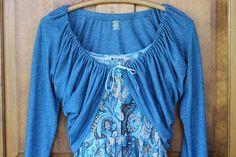 Ten Minute Spring T-Shirt Shrug | eHow Crafts | eHow