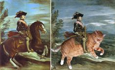 23 Famous Paintings Improved By Cats - Pop Culture Gallery