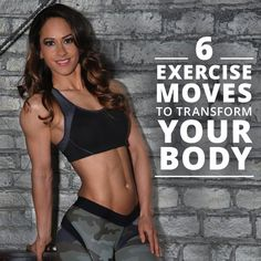 6 Best Exercises to Transform Your Body #transformation #workouts