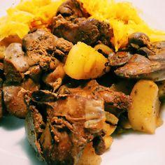 #watrobka #drobiowa z jabłkami i cebulki plasterkami - #chicken #liver with #apples and #onion - sekretny składnik #jimbean secret ingredient - #dobre #jedzenie #polish #good #food #gotowanie #wdomu #cooking #athome #foodphotography #foodpics #foodie #foodtube #foodblog #foodporn #instafood #whyiamcookingsogood #masterpiece #pycha #pyszne #yum #yummy #hungry #glodny