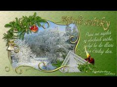 Vánoce a nový rok-přání z Beskyd - YouTube Christmas Ornaments, Holiday Decor, Youtube, Home Decor, Decoration Home, Room Decor, Christmas Jewelry, Christmas Decorations, Home Interior Design