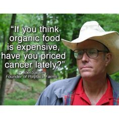 Organic food is worth it!! Side effects of GMO's = early death!