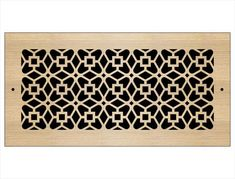 Laser Cut Wood Grilles | Pacific Register Company Laser Cut Wood, Laser Cutting, Wall Vent Covers, Wood Patterns, Types Of Wood, Home Remodeling, Animal Print Rug, Ceiling, Decor