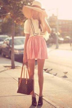 southern girl charm; big city LV swag