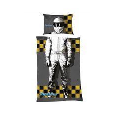 """Une Parure de lit 1 pers Top Gear modèle """"I am the Stig"""" Retrouvez la housse de couette à 36,90€"""