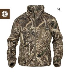 Banded® SWIFT Soft-Shell Wader Jacket features a sensationally comfortable coral-fleece lining covered in a stealthy, weather-resistant exterior. Hunting Clothes, Hunting Gear, Waterfowl Hunting, Duck Hunting, Bass Fishing Shirts, Softshell, Hand Warmers, Vest Jacket, Outfits