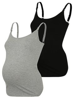 Maternity Nursing 2 Pack Vests, read reviews and buy online at George at ASDA. Shop from our latest range in Women. This great value 2 pack of maternity nurs...