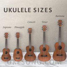 Ukulele Sizes, Ukulele Tuning, Guitar Quotes