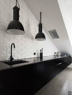 36 Stylish Black Kitchen Designs