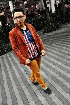 """the Drummer """"Gankstar"""" Band wearing our shoes"""