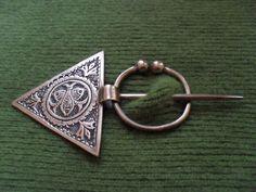 9c68a96985c Berber Penannular brooch Viking Jewelry