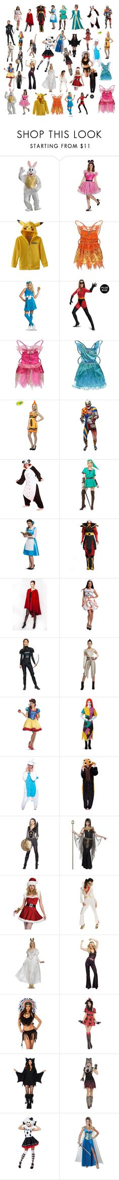 """""""Adult Costumes"""" by galactic-girl ❤ liked on Polyvore featuring George, Disguise, Rasta Imposta, Buy Seasons, Rubie's Costume Co. and Dreamgirl"""