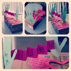 Mother's Day cards I made & a new pair of TOMS for my mom <3 #mothersday #TOMS #craft #handmade #DIY