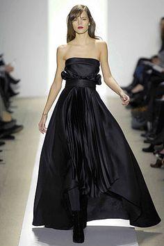J. Mendel Fall 2007 Ready-to-Wear Fashion Show - Freja Beha Erichsen