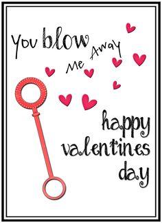 DIY Valentine Printable