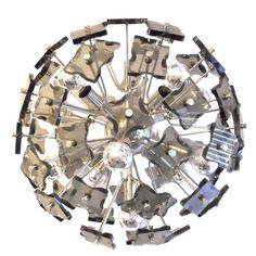 1stdibs | Italian Chandelier Pendant 1960's Lamp