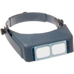 "Donegan DA-5 OptiVisor Headband Magnifier, 2.5x Magnification, 8"" Focal Length  http://www.amazon.com/gp/product/B0015IN8J6/ref=as_li_ss_tl?ie=UTF8=1789=390957=B0015IN8J6=as2=w2weblinkdir-20"