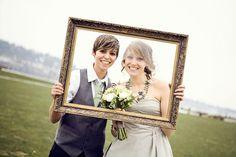 Lesbian wedding!