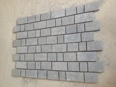 G654 Granite Flamed Paver Stone In Sheet