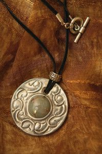 Creative Company | Easy Pewter Projects: Pendant Creative Company, Pewter, Washer Necklace, Craft Projects, Pendant, Easy, Gifts, Jewelry, Tin Metal