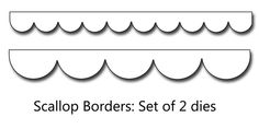 9 Best Images of Printable Template For Scalloped Border - Free ...