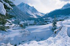 Gargellen Vorarlberg - Montafon - Oostenrijk