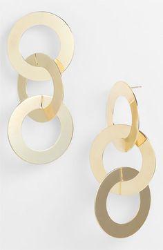 Natasha Couture Circle Earrings