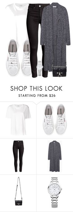 """Untitled #4800"" by beatrizvilar ❤ liked on Polyvore featuring Yves Saint Laurent, Superga, Givenchy and Baume & Mercier"