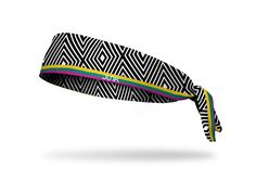 Vivacious colors and vibrating patterns crest into your gaze for a wonderful representation of a place and culture equally as spectacular! This Barbados headband by JUNK® Brands is printed on pro-spor